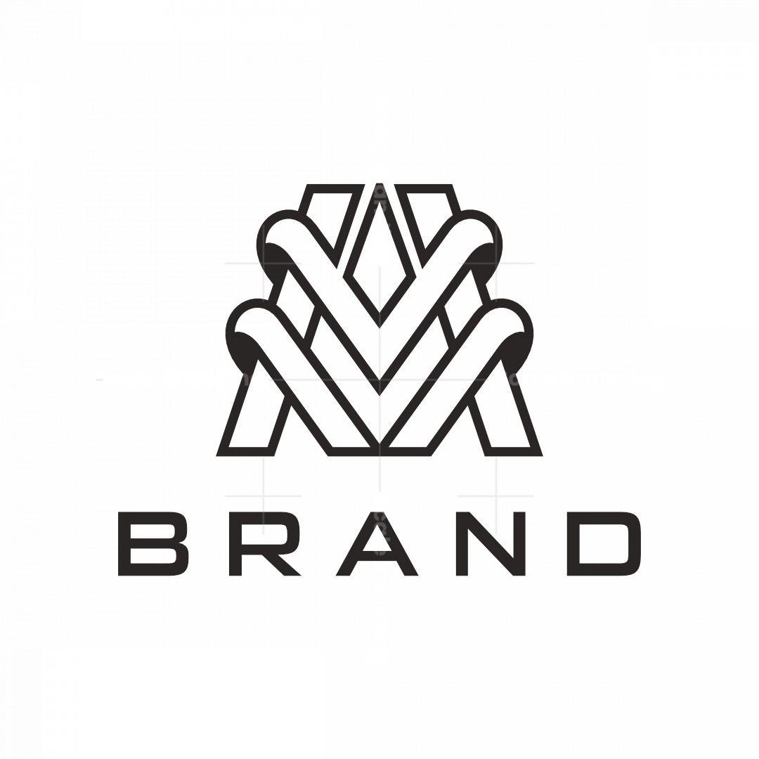 Letter Mv Logo