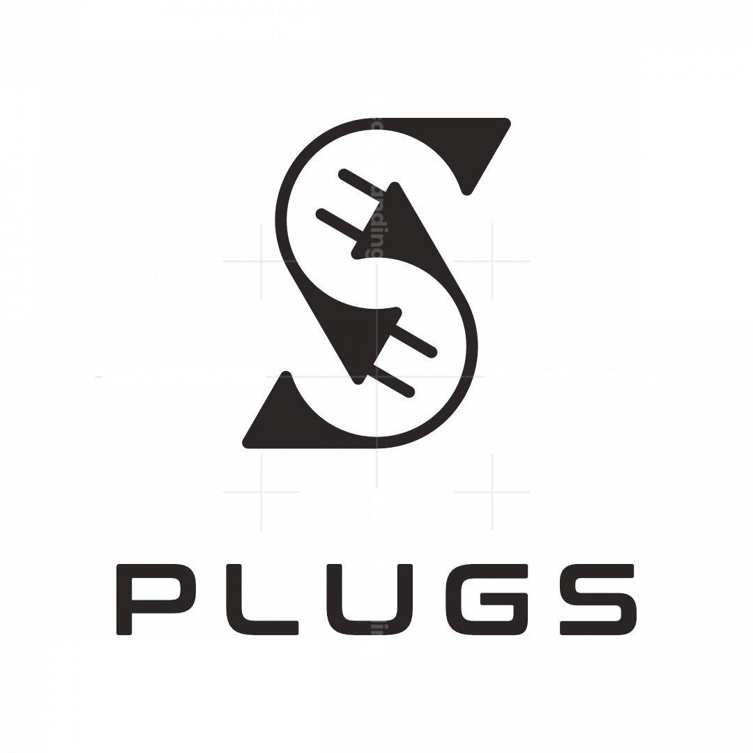 Letter S Plug Logo