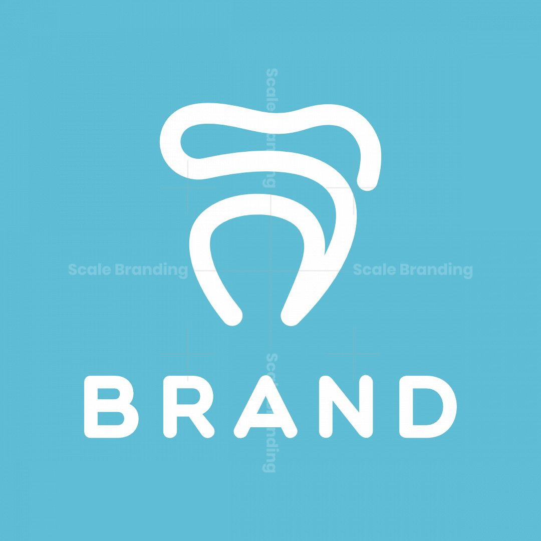 Letter S Tooth Logo