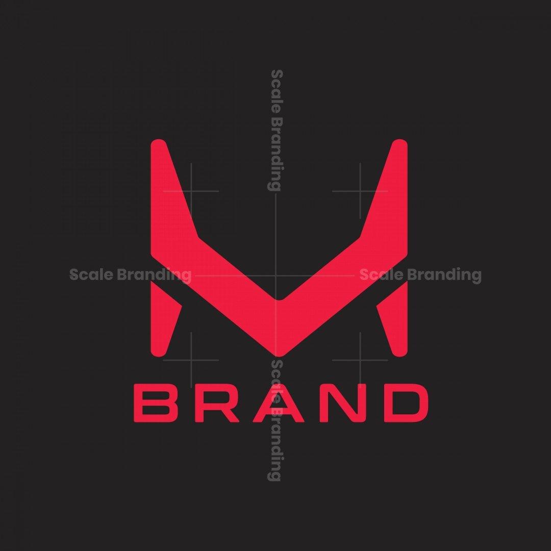 Letter M Modern Logo