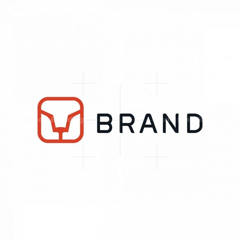 Minimal Lion Logo