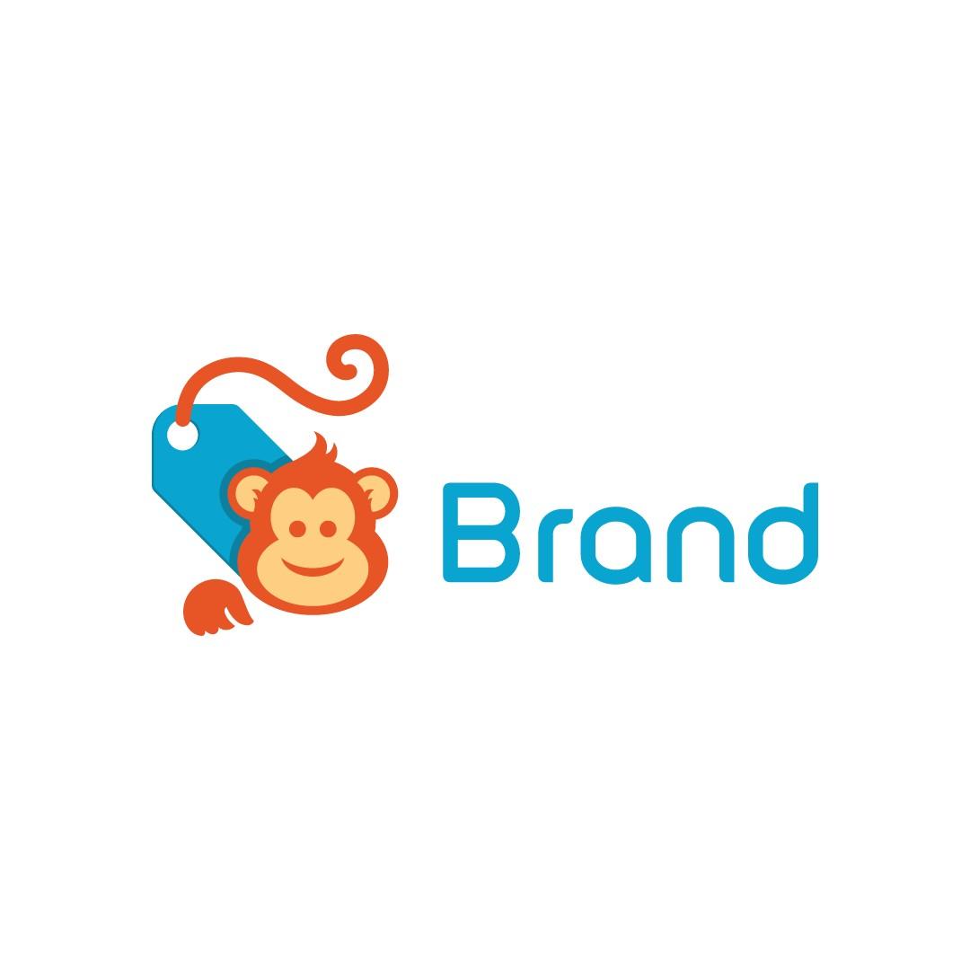 Monkey Price Tag Logo