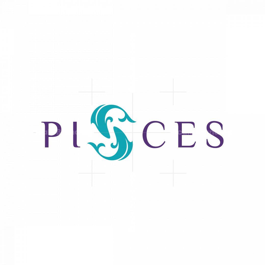 Pisces Fish Logo
