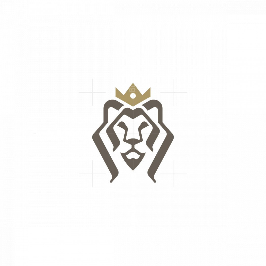 Proud Lion King Logo