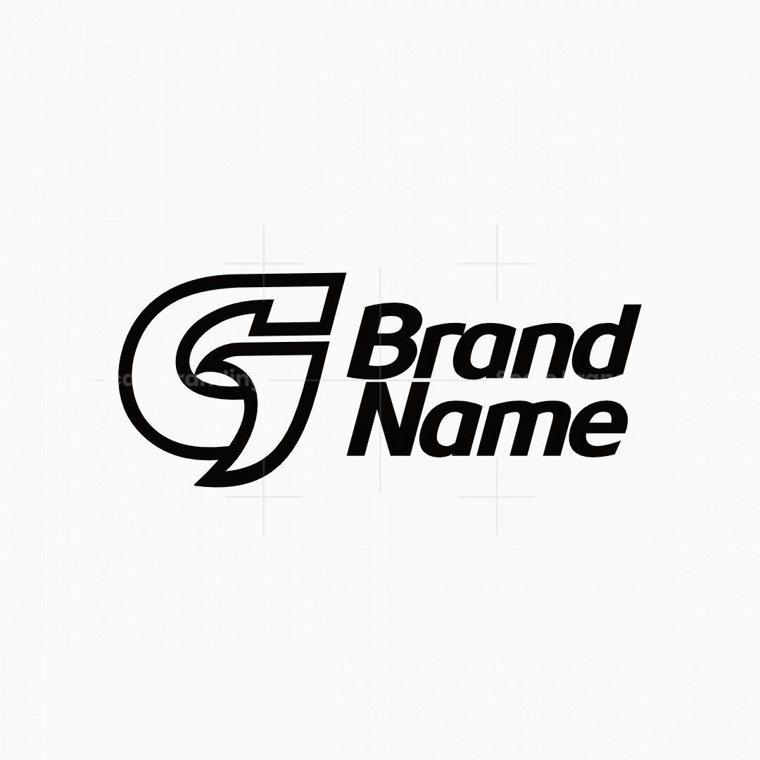 Sharp Letter G With Subtle Bird Logo