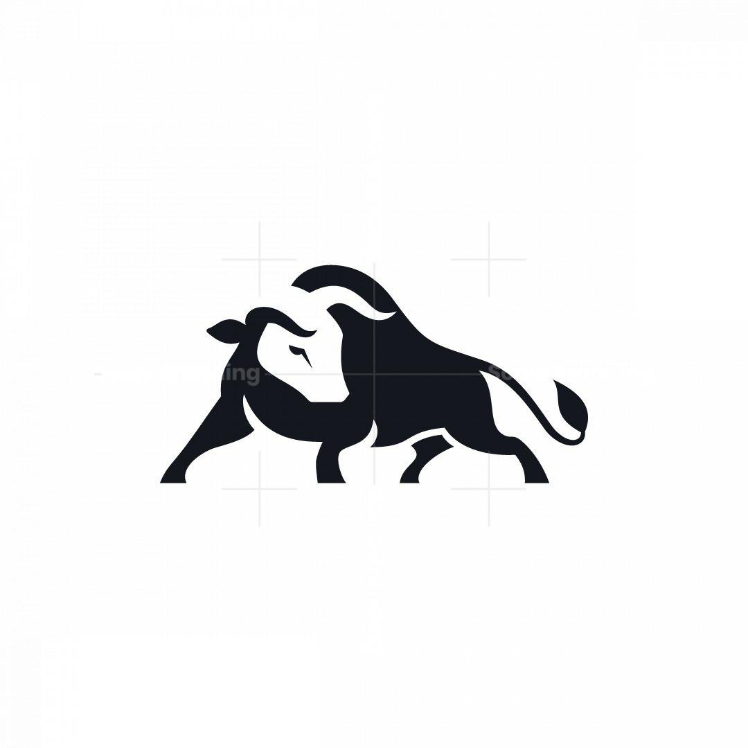 Stylish Bull Logo