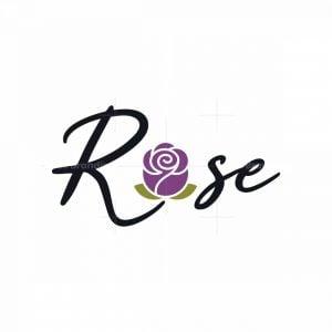 Stylish Rose Logo