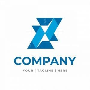 Unique And Stylized Letter X Tech Logo