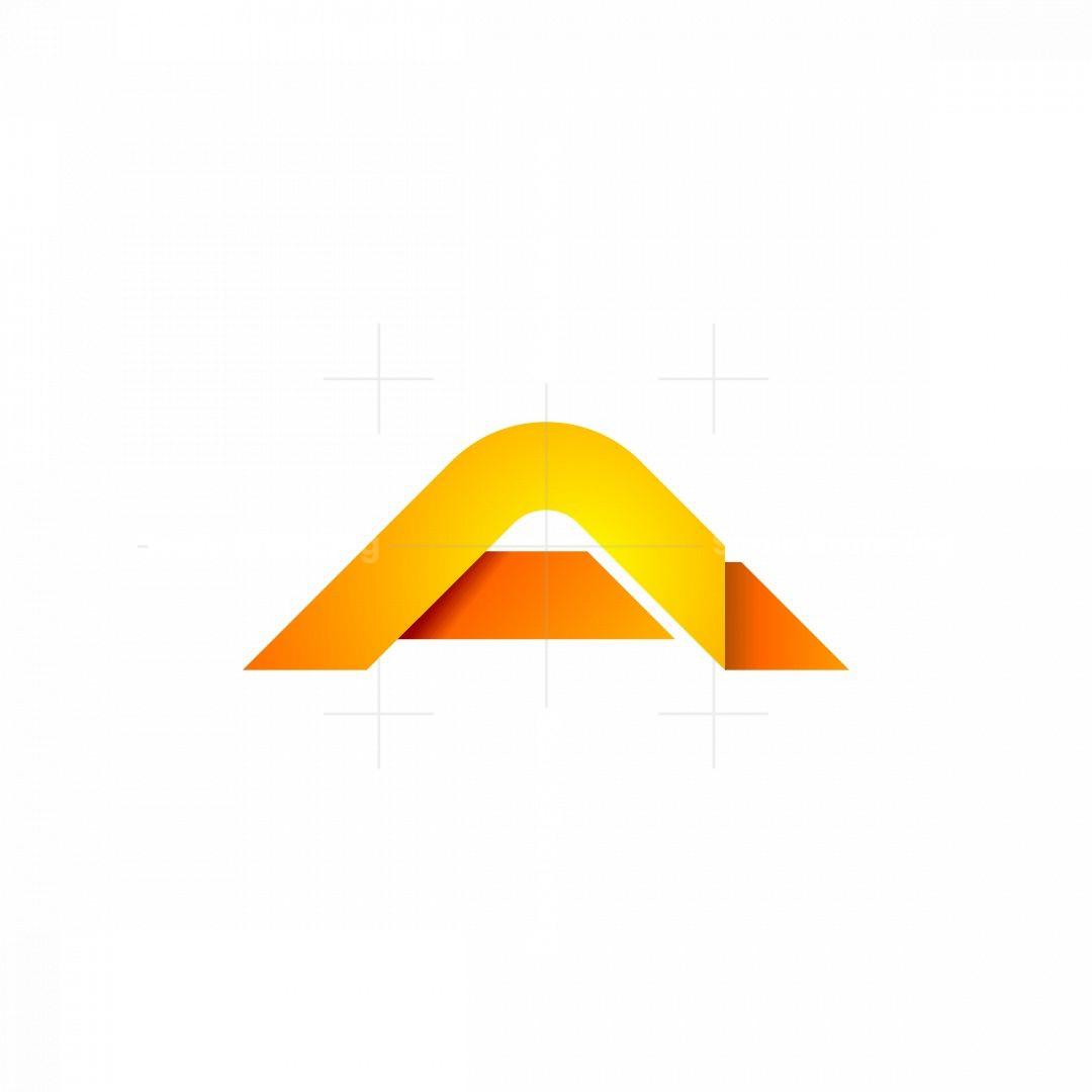 Cool Modern A Logo