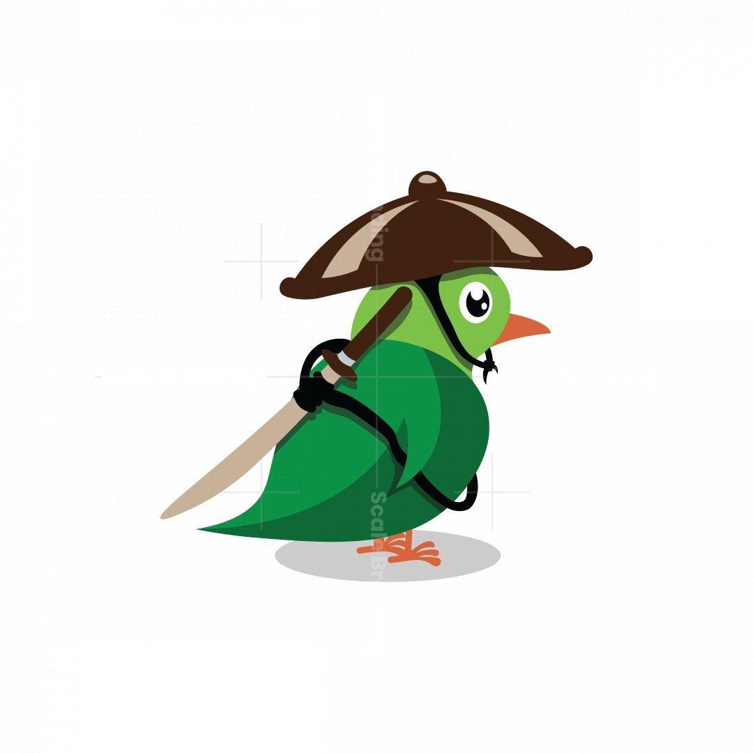 Bird Swordsman Logo