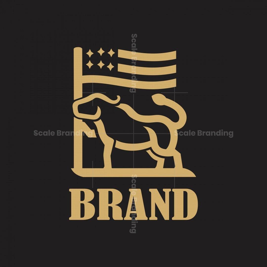 Bull Flag Logo