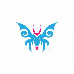 Butterfly Crayon Logo