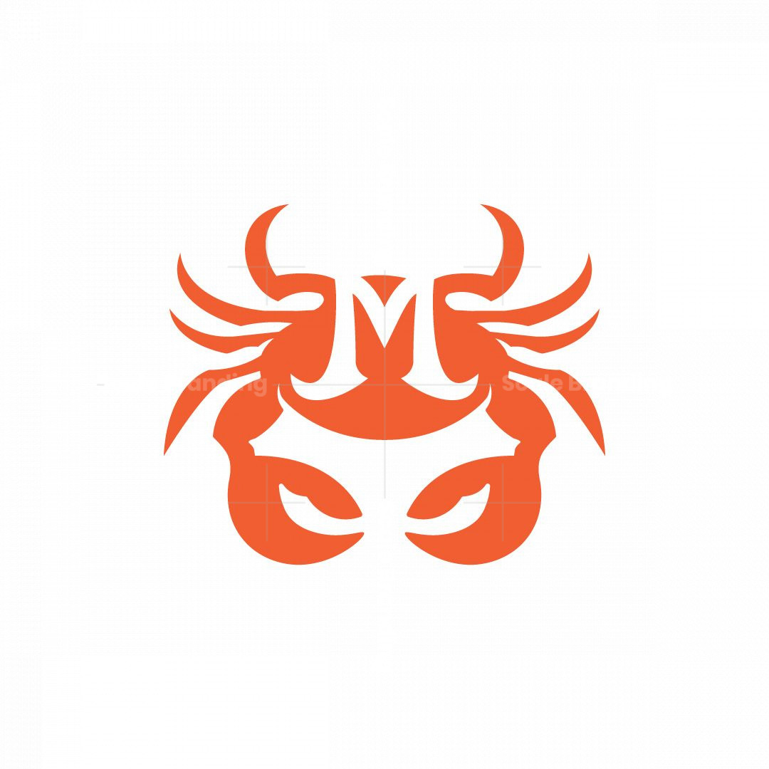 Crab Letter M Logo