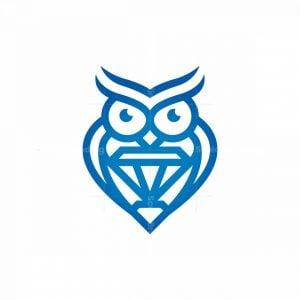 Luxury Owl Logo Owl Logo