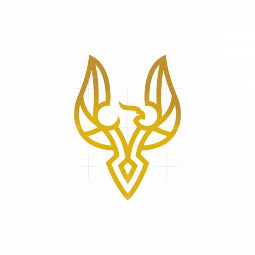 Flying Golden Phoenix Logo