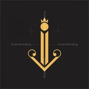 Luxury Letter I Logo