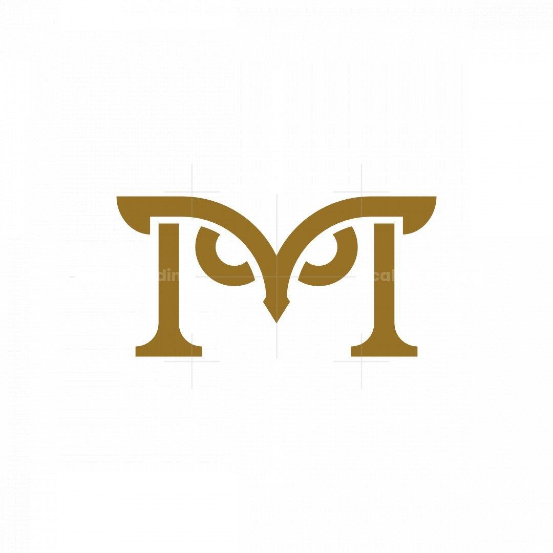 Letter M Owl Logo