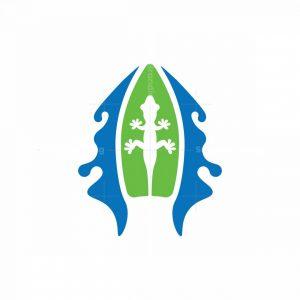 Lizard Surf Logo