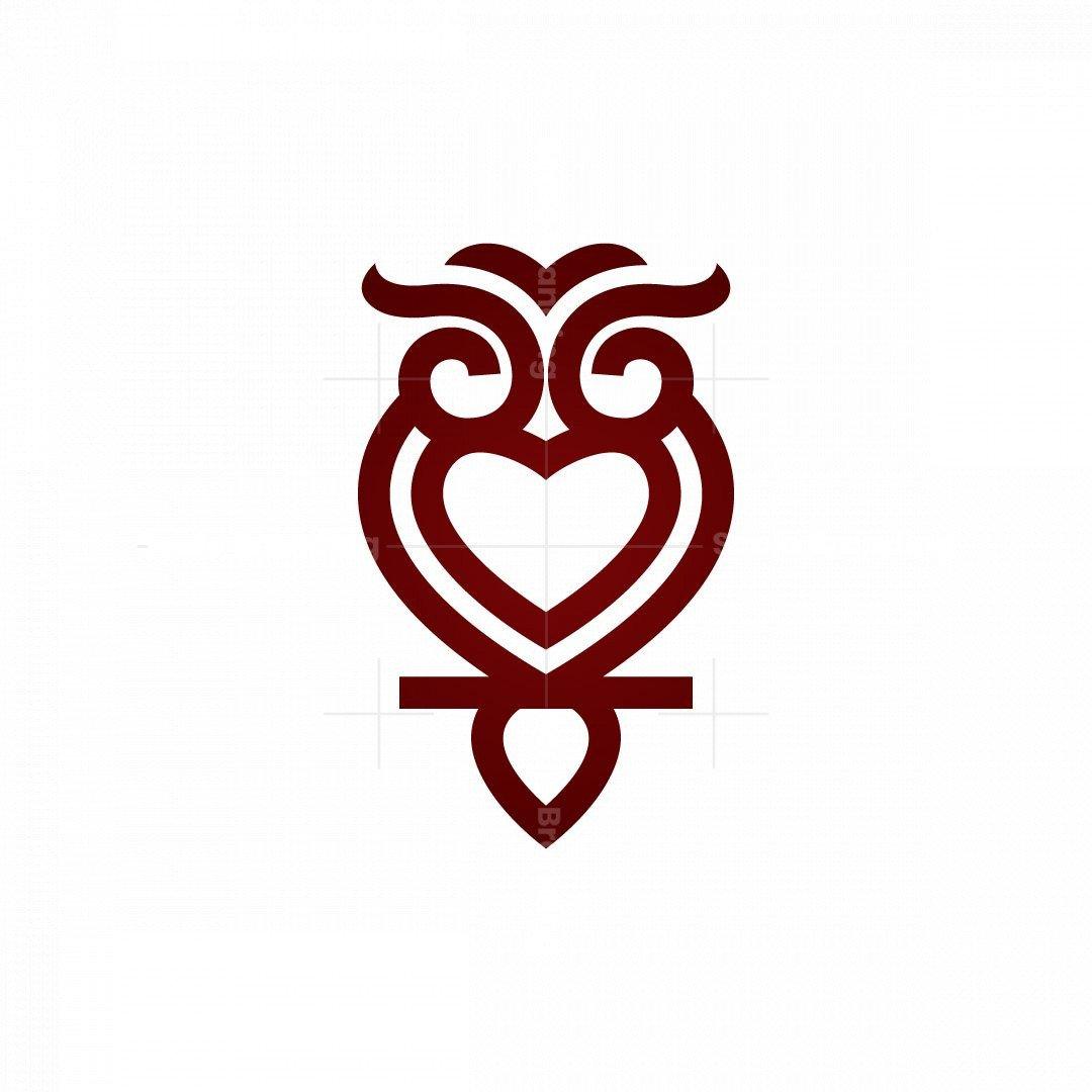 Love Owl Logo Healthcare Owl Logo
