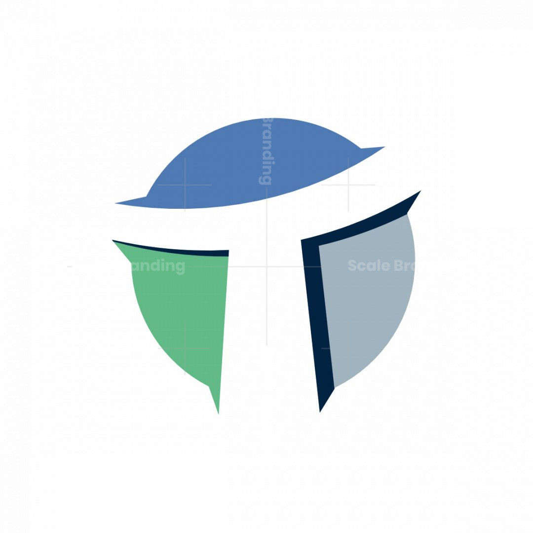 Modern Letter T Logo