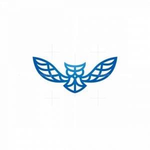 Flying Owl Logo Owl Logo
