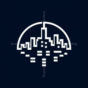 New York From The Hudson River Logo