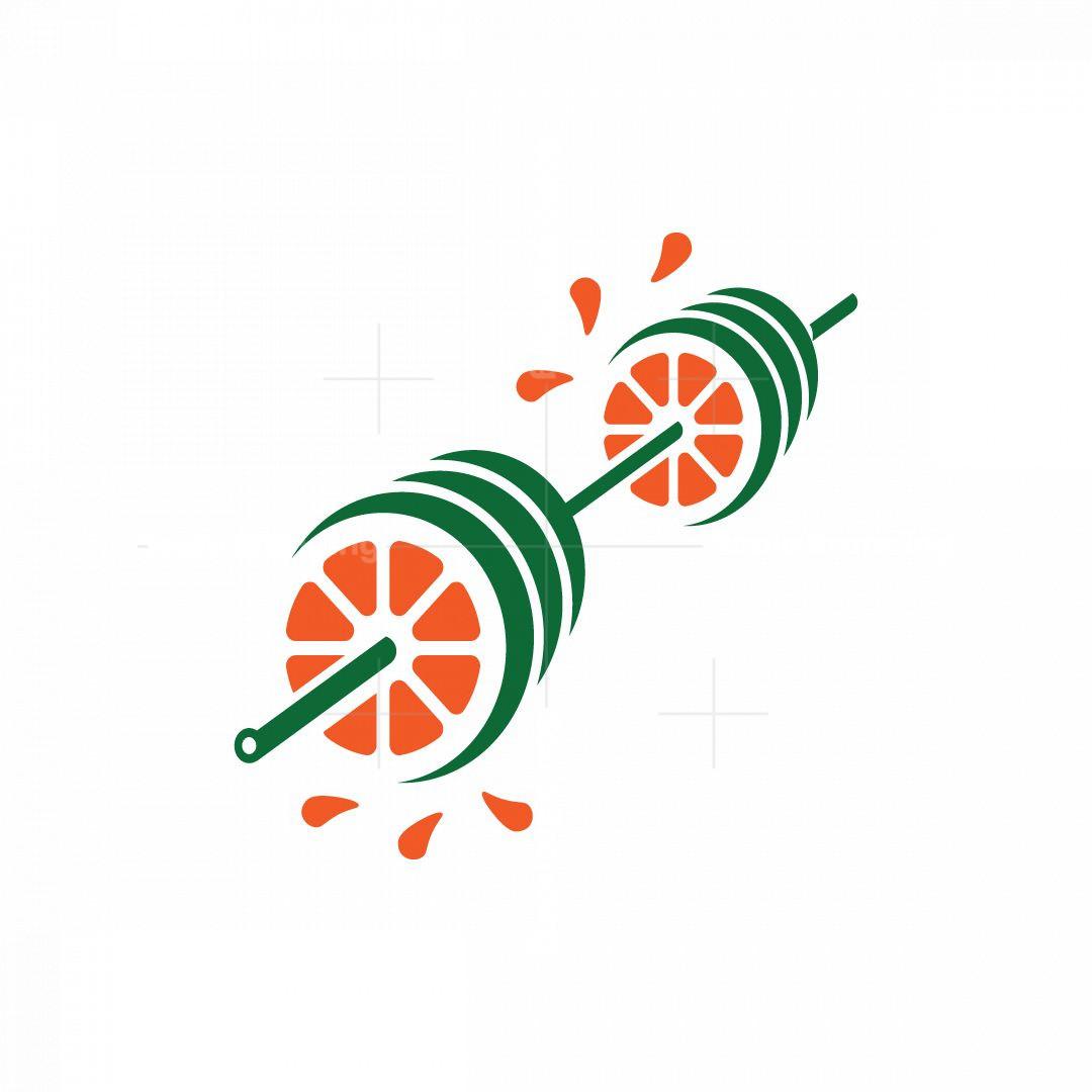 Orange Barbell Logo