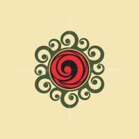 Rose Ornament Logo