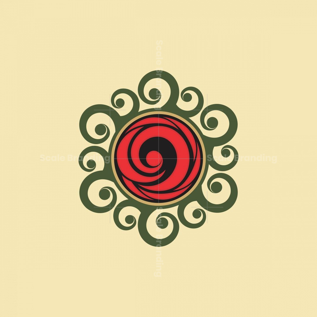 Rose Ornament Logo