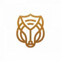 Shield Wolf Logo