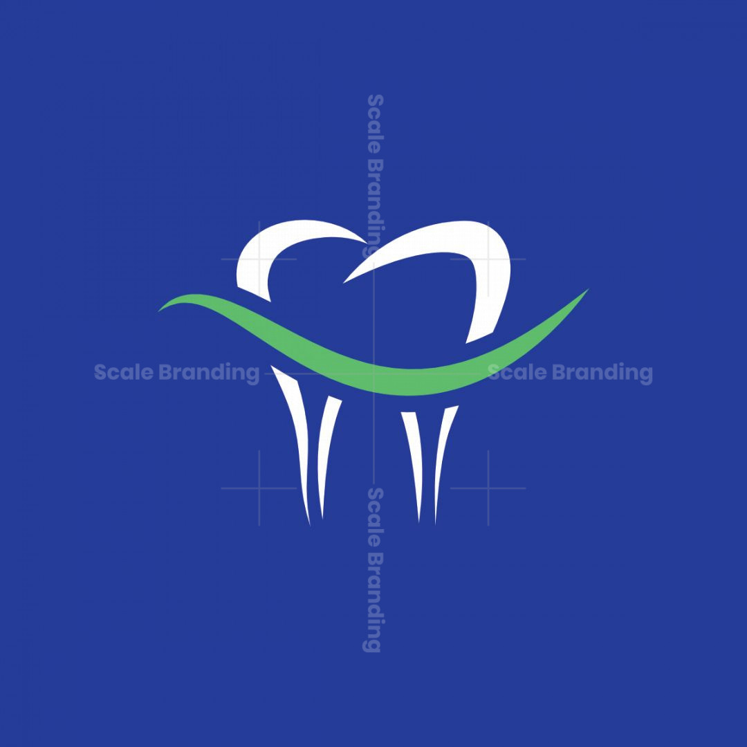 Tooth Smile Dental Logo
