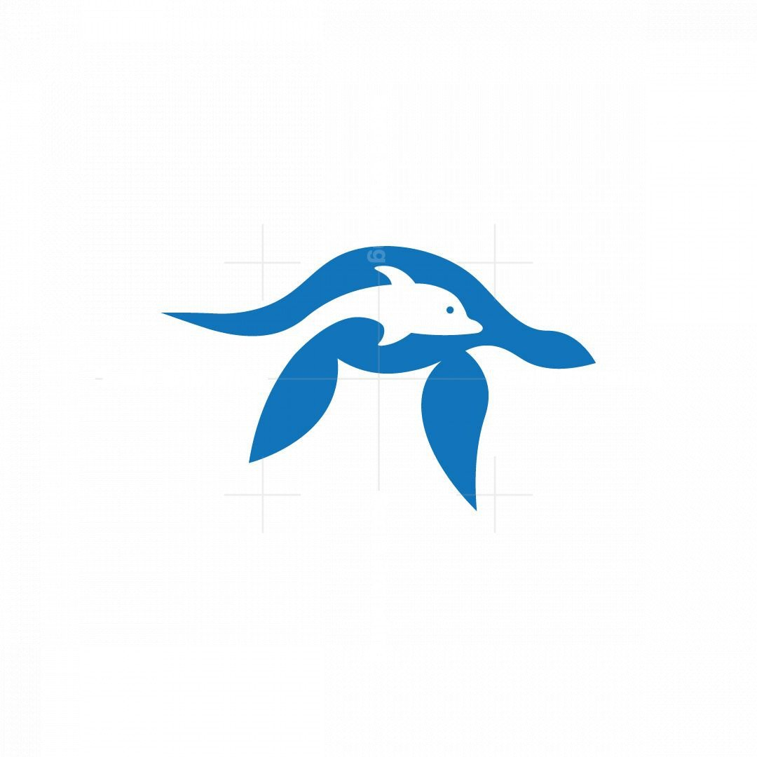 Turtles And Dolphins Logo