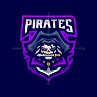Pirates Mascot Logo