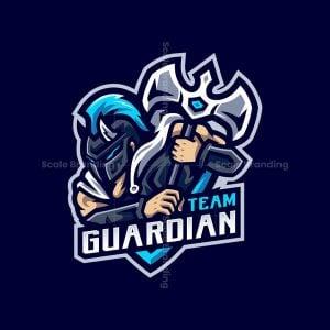 Team Guardian Mascot Logo