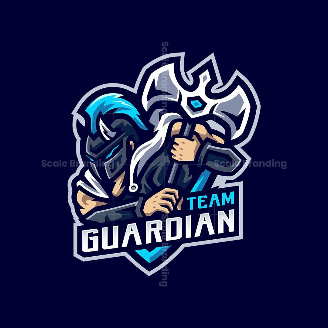 Team Guardian Mascot Logo