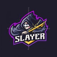 Slayer Mascot Logo