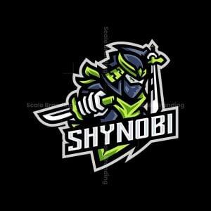 Shynobi Mascot Logo