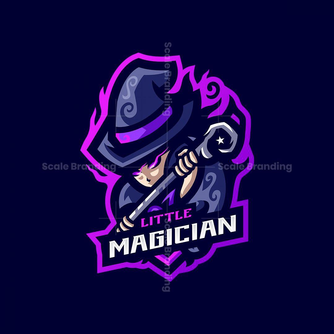 Little Magician Mascot Logo