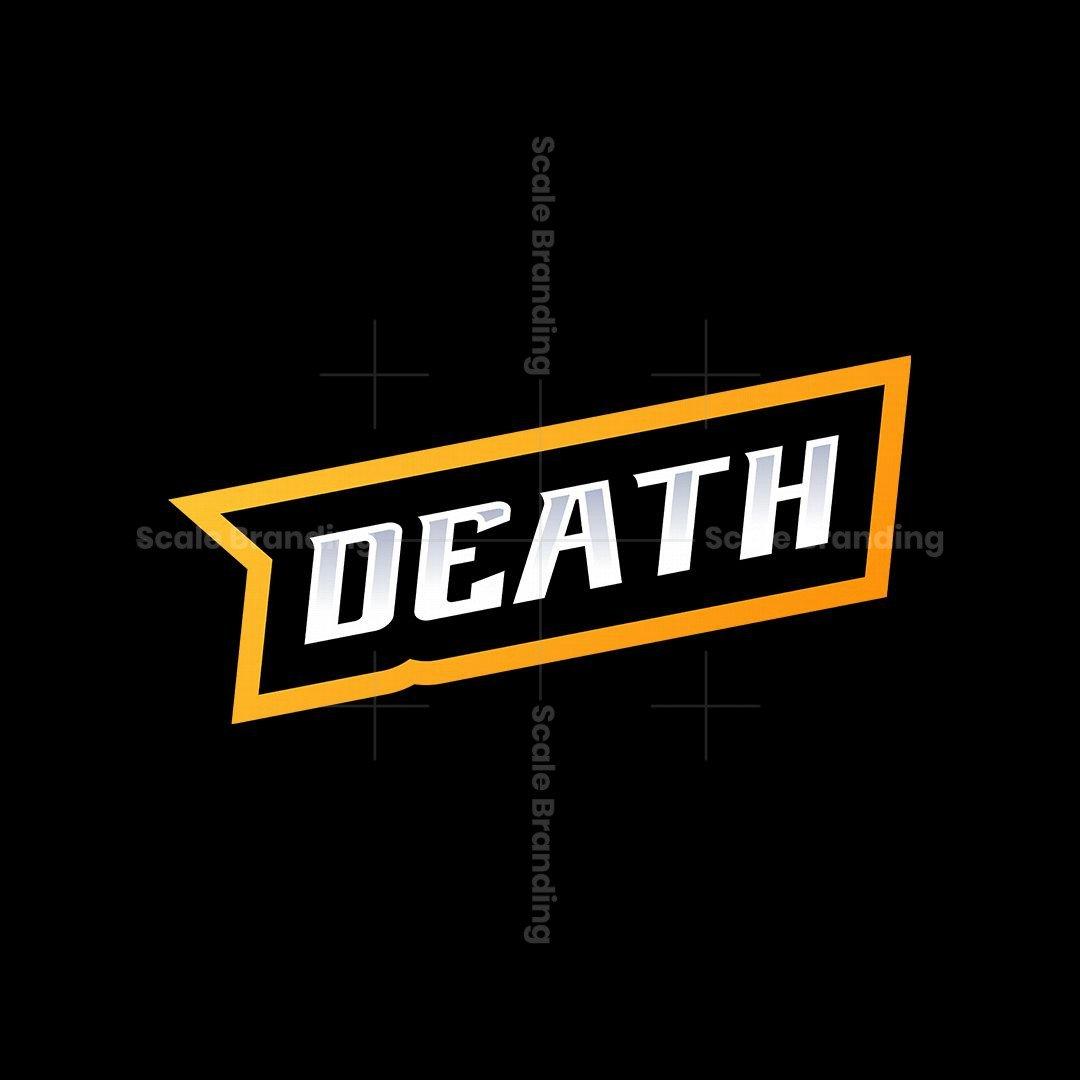 Death Mask Mascot Logo