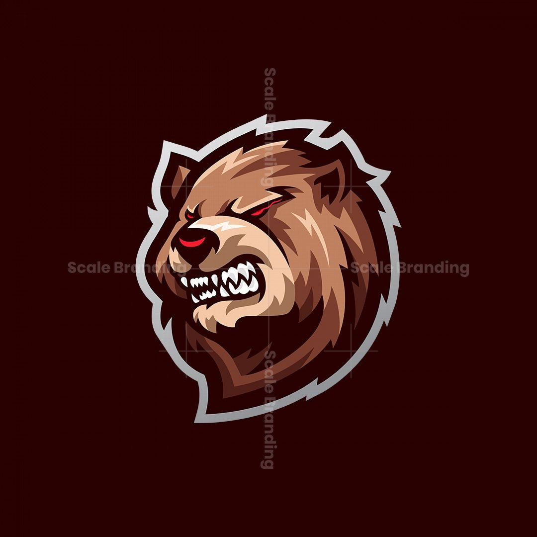 Grizzly Mascot Logo