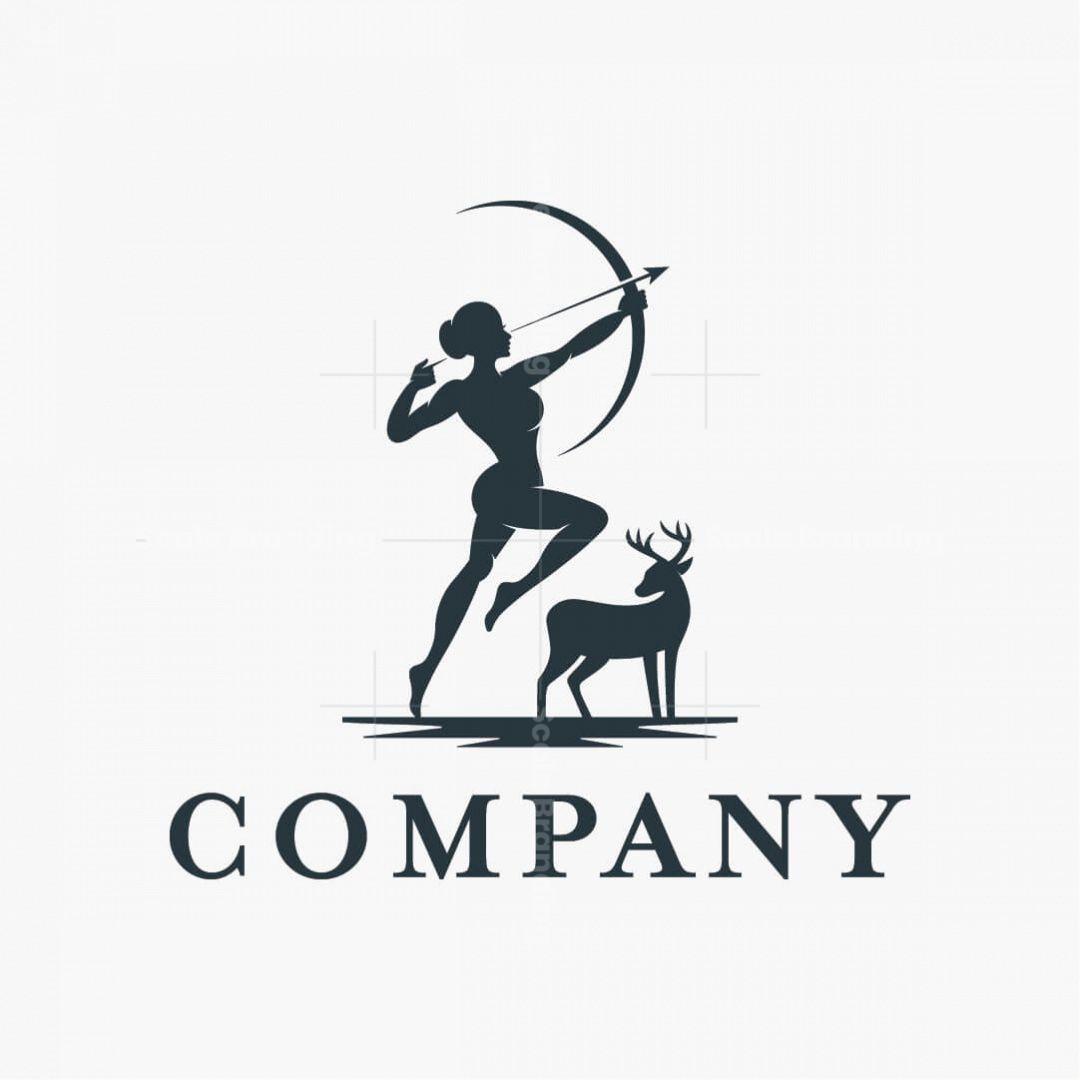 Artemis Goddess Logo