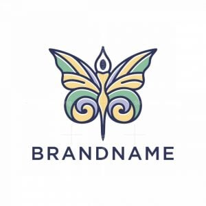 Butterfly Lady Logo