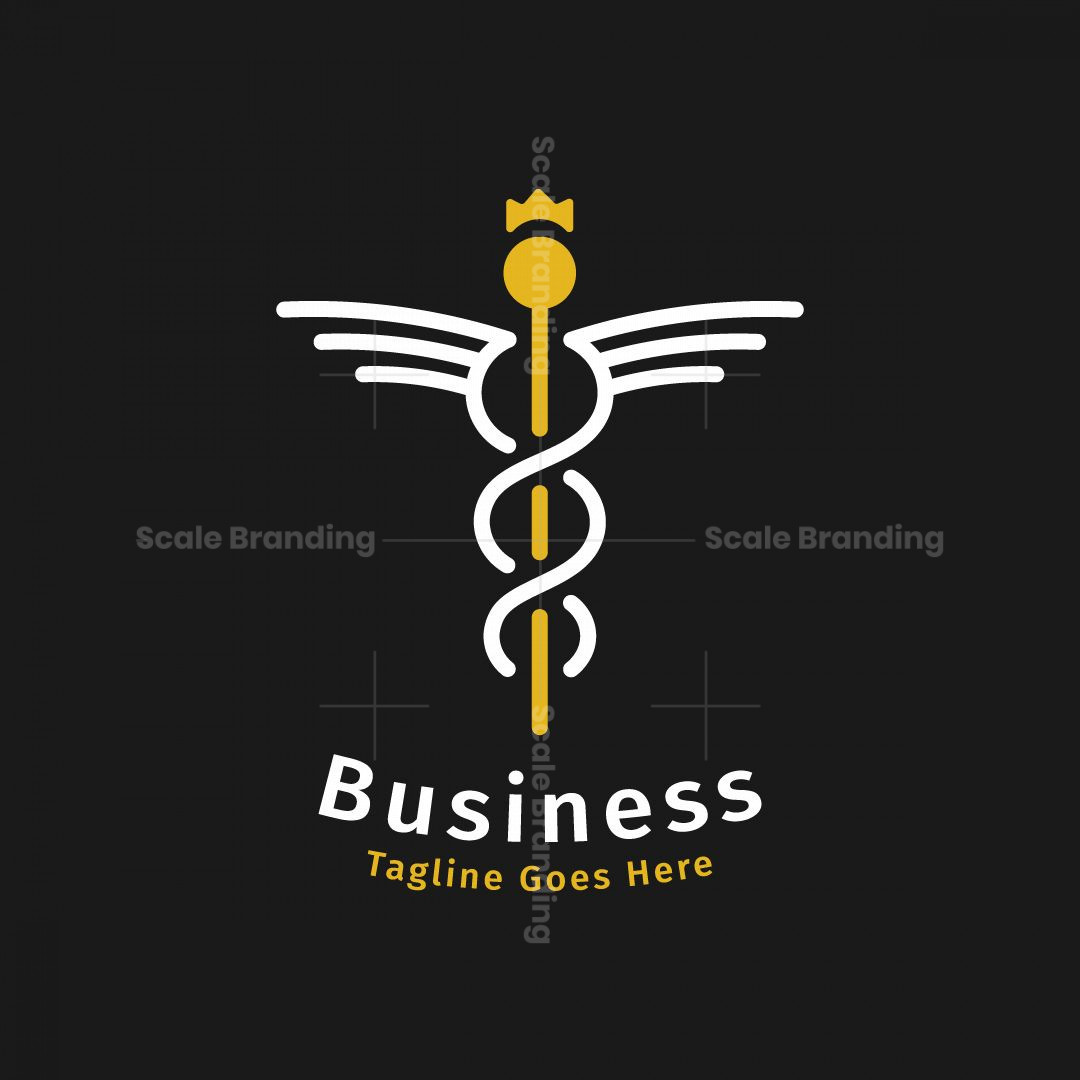 Caduceus King Logo