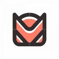 Cat Robot Logo