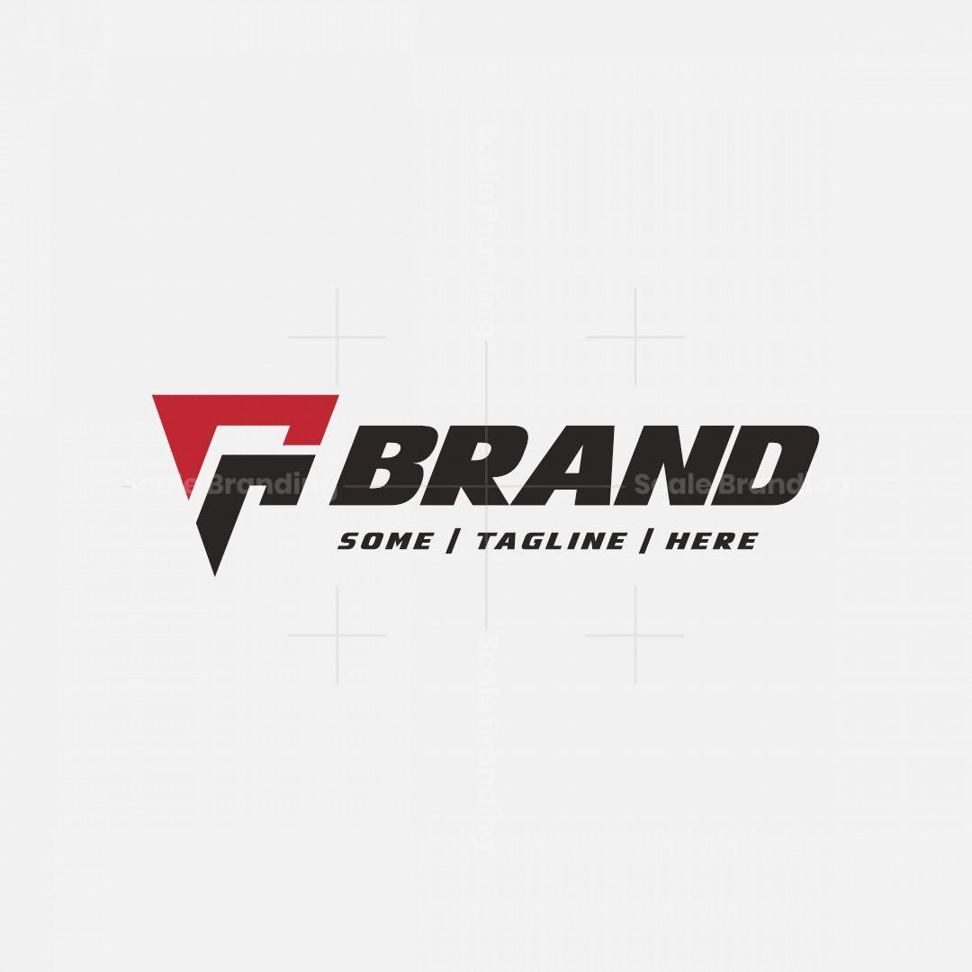 Double R Letter F Logo