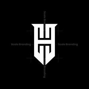 Ehe Monogram Shield Logo
