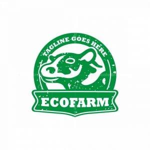 Eco Farm Cattle Logo