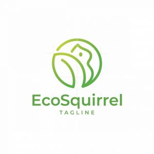 Eco Squirrel Logo
