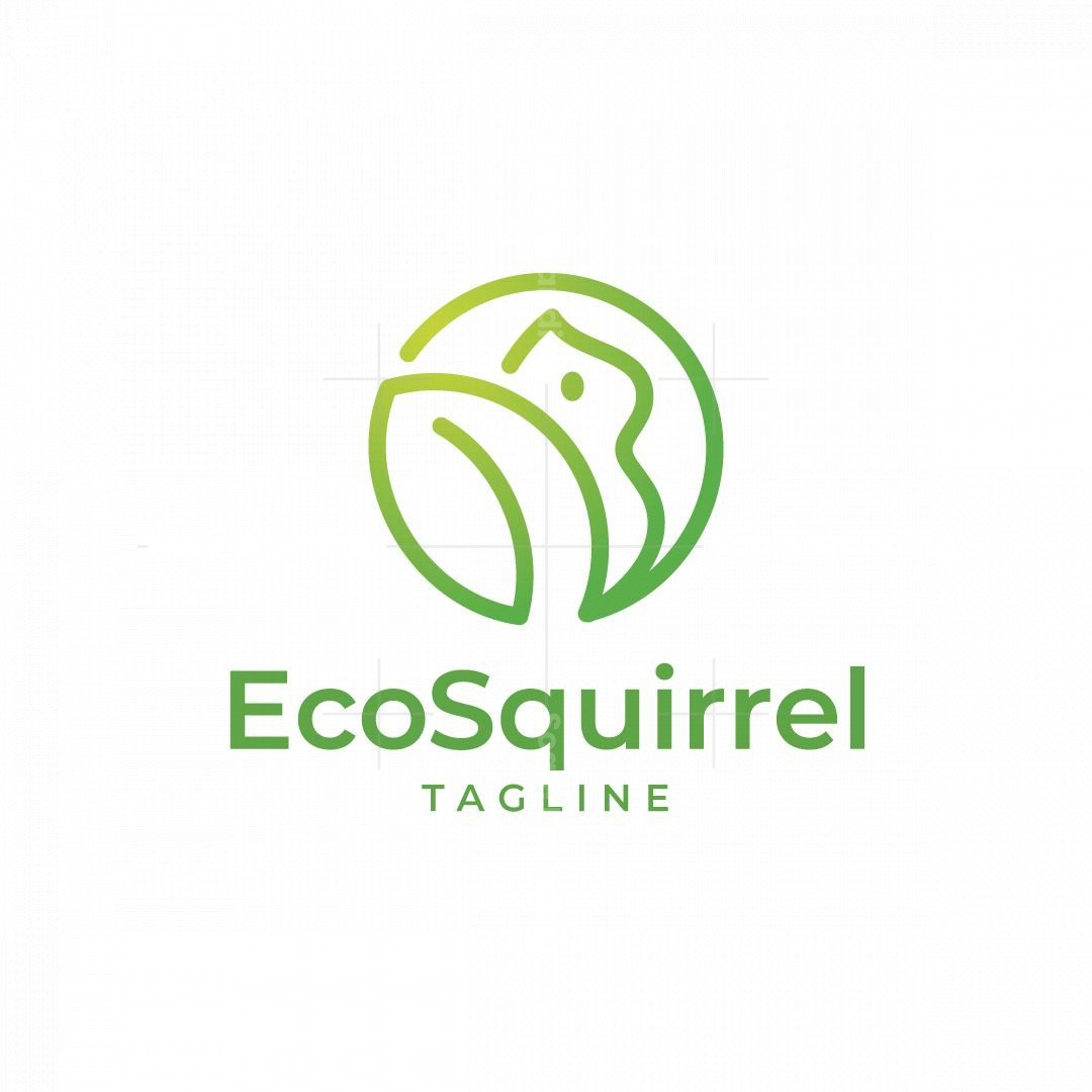 Eco Squirrel Logo