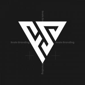 Fs Sf Letter Monogram Logo
